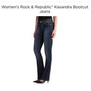 Rock & Republic Kasandra Signature Bootcut Jeans